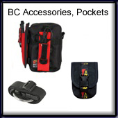 BCD Accessories, Pockets