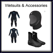 Wetsuits, Boots & Gloves