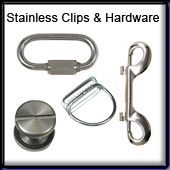 Stainless Hardware & Clips
