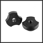 Delrin Scalloped Thumbscrews