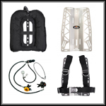 Dive Rite Backplate Kit